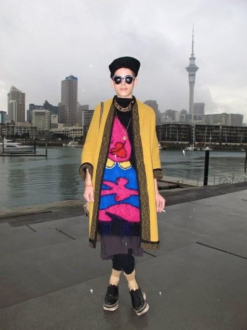Facehunter spots fashion forward Kiwi girls during #NZFW