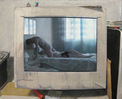 Jukka Siikala: Samsung, oil on canvas, 50 x 70 cm, 2009