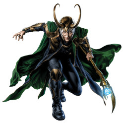 New Promo Art of Tom Hiddleston as Loki for The Avengers
