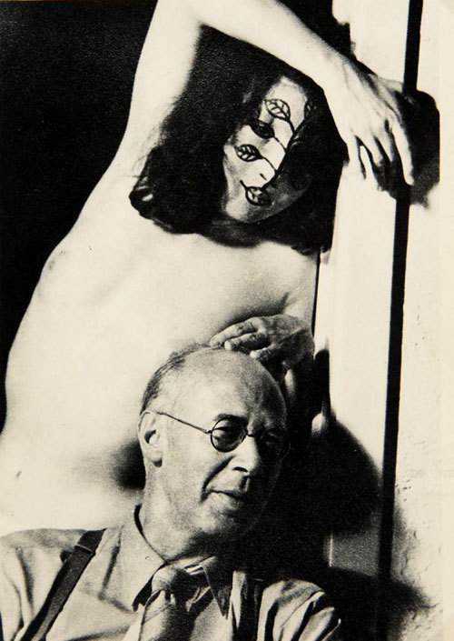 Henry Miller and Margaret Neiman by May Ray. 1947