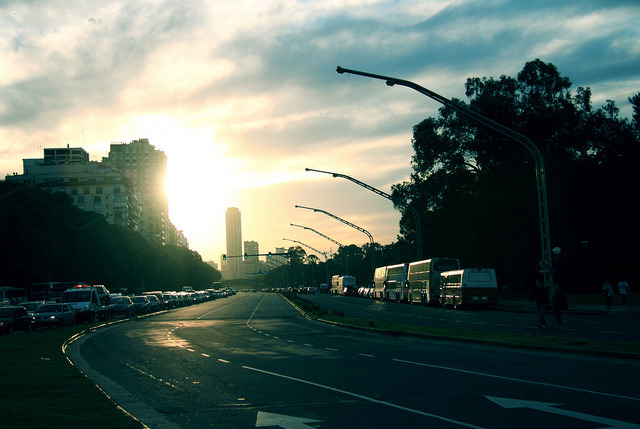 sunset by amy.herbs on Flickr.Via Flickr: buenos aires, argentina