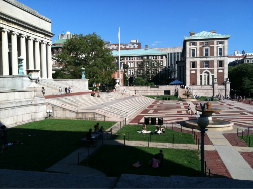 My new school/home. What's up, Columbia!