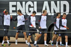 training session at London Colney — 30, August, 2011