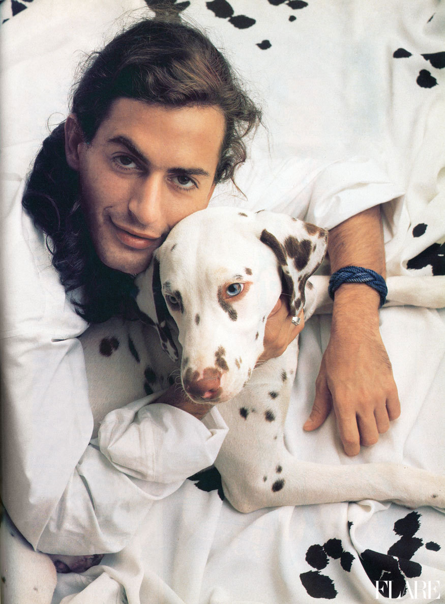 Marc Jacobs - November 1989 / Published: September 2009 / Photographer: Andrew Eccles Click here for all your New York Fashion Week Spring 2012 coverage