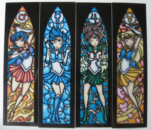 Sailor Moon in stained glass! (via The Daily Geek: Buffy, Willow, Batman, Sailor Moon, and Jek Porkins » MTV Geek)