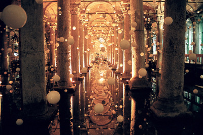 allthingseurope:  The Basilica Cistern, Istanbul, Turkey (by MagdaBis)