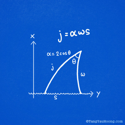 furzine:  j=αωs Jaws Equation by TangYauHoong on Flickr.