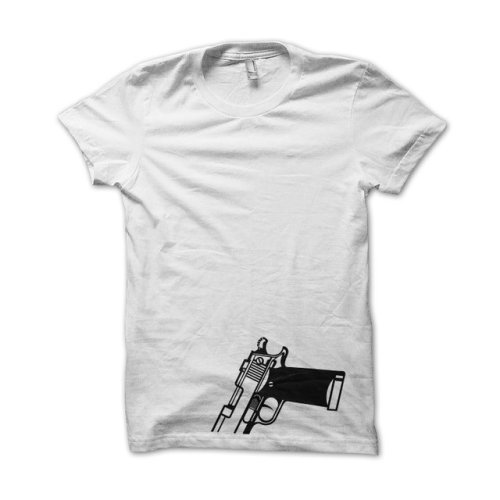 Love a tee that's simple and to the point.  This one, titled Pipa Gangster, sells out of the Netherlands via Fristee.  Check it out!