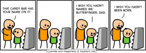 Candy Bar - Cyanide & Happiness Comic