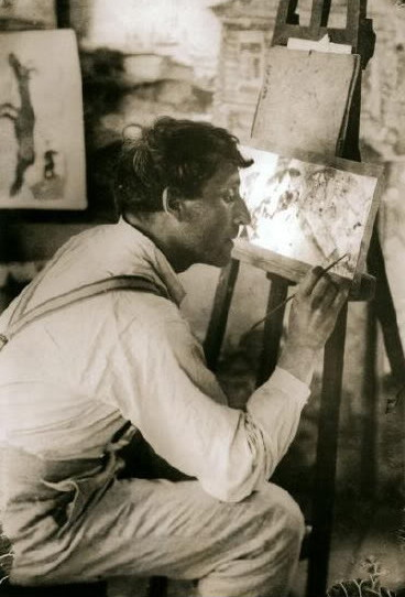 "artistandstudio:  Marc Chagall ""Only love interests me, and I am only in contact                                  with things I love."""