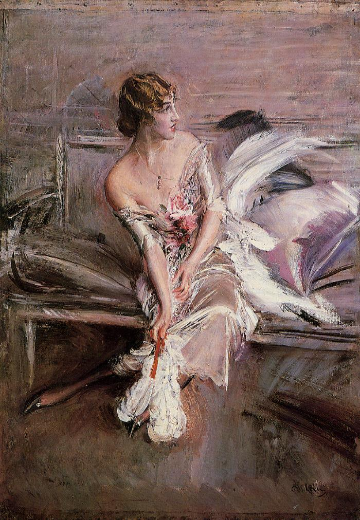Portrait of Gladys Deacon (1901) by Giovanni Boldini