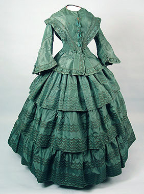 Day dress, 1855-60 US
