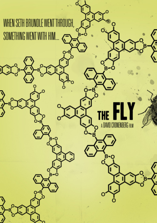 cursesandcoffins:  The Fly redesign