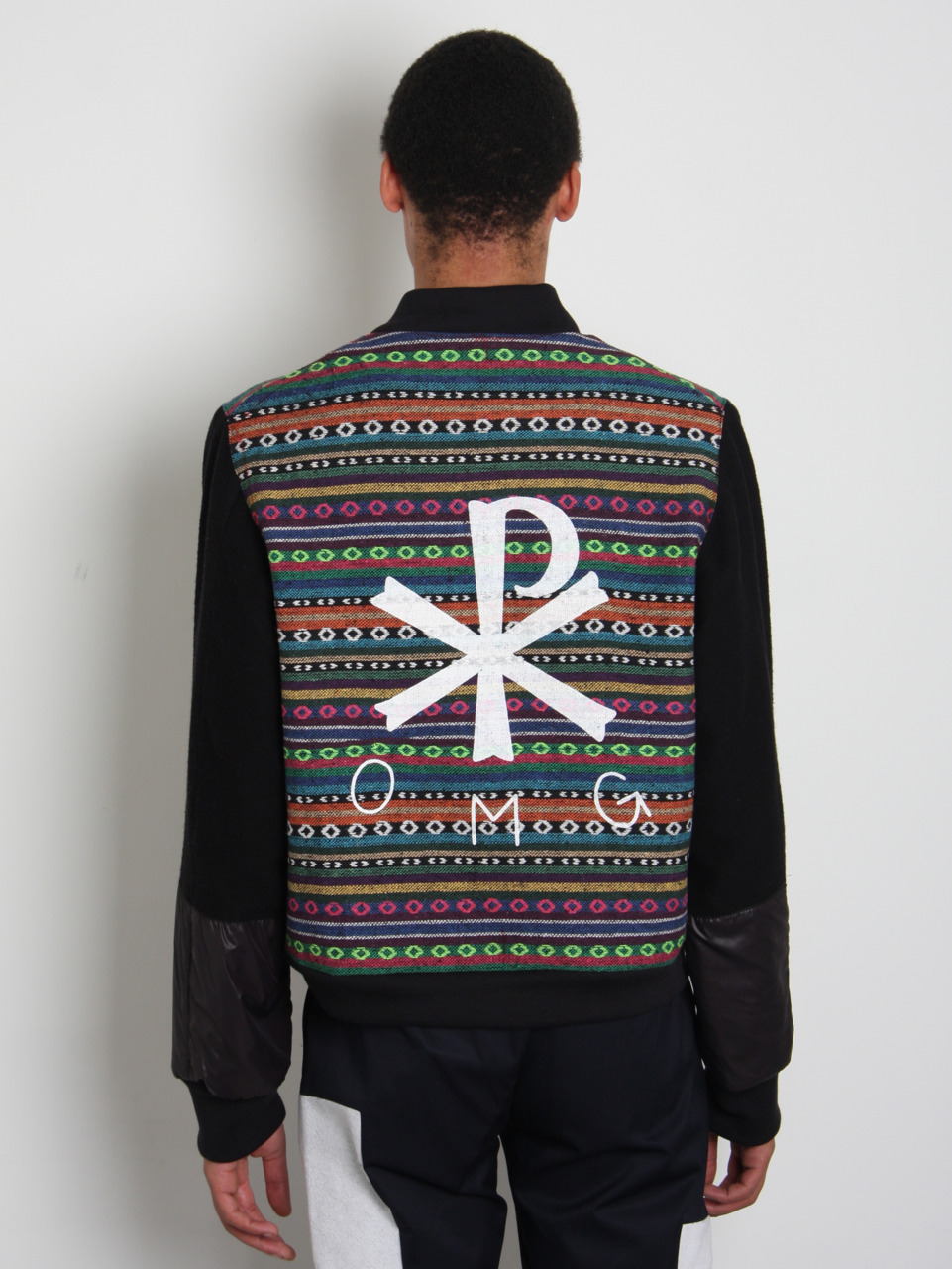 oki-ni:  Autumn/winter '11 Christopher Shannon is now live on oki-ni. For this collection, Christopher reflects on the fact that  sportswear is a global phenomenon. He noted when watching documentaries  that, even in the rainforest, you would see someone wearing a Nike  Jacket or adidas top. This idea he blended with an eclectic range of  visual inspiration, including books of Nigerian streetstyle by Pieter  Hugo, to create multicultural pieces with sportswear roots and varied  ethnic elements. As a result, the collection blends embroidery, tassels and pom poms to present a truly multicultural vision. Also, as an aside, the prints used throughout the collection were done by the talented Rob Whoriskey, who we also commissioned to do illustrations for our Fallow Jeans feature a while back. Nice work Rob.  OMG!!!!