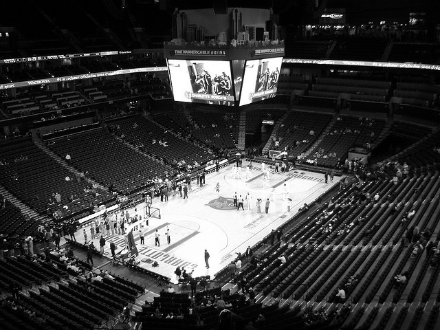 stadium-love-:  Time Warner Cable Arena: Home of the Charlotte Bobcats by Shawn Smith