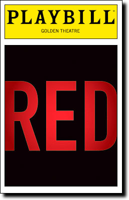 'Red' Playbill