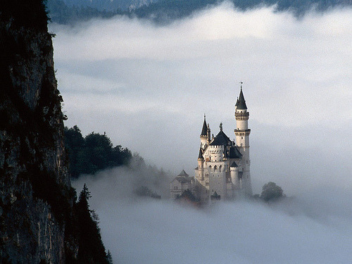 heoro:  Fairy Tale Fantasy, Neuschwanstein Castle, Bavaria, Germany (by jackluke)