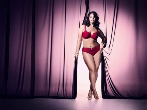 Ashley Graham for Elomi 36 inch bust, 34 inch waist, 47 inch hips