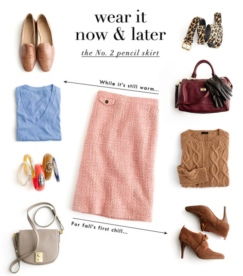 tallgirltales:  Now & Later from J.Crew.