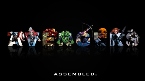 herochan:  Wallpaper Wednesday: Avengers Assembled - by GenZone