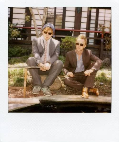 rupert grint & tom felton looking handsome,band of outsiders f/w 11 campaign