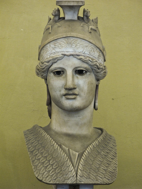 Athena, From the Musei Vaticani, Rome