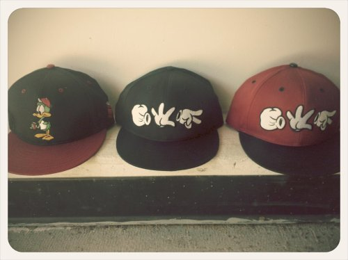 keithsablad:  Hats are back in stock! (Taken with picplz.)  They're back! And will be available shortly.