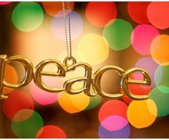 Peace necklace :)