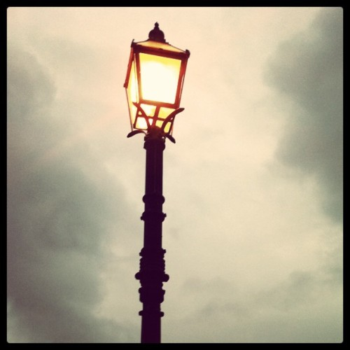 Park Lamp (Taken with instagram)