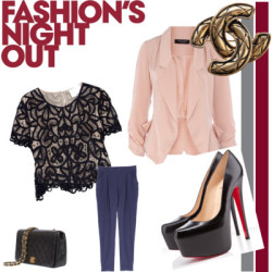 Dream outfit for FASHION NIGHT OUT by msuser0115 featuring a drape jacket3 1 Phillip Lim embroidered blouse$450 - net-a-porter.comDorothy Perkins drape jacket£40 - dorothyperkins.comCHANEL VINTAGE BY REWIND shoulder bag€1.532 - lindestore.comChanel vintage look jewelry$429 - djpremium.com