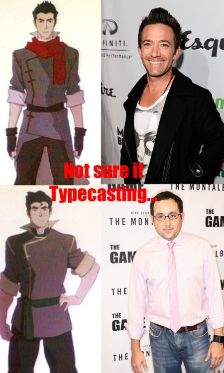 These are the guys who will play Mako and Bolin, Korra's companions in Avatar: Legend of Korra, and their voice actors.  LOL.