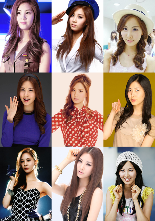 top 9 favorite pictures - SNSD Seohyun