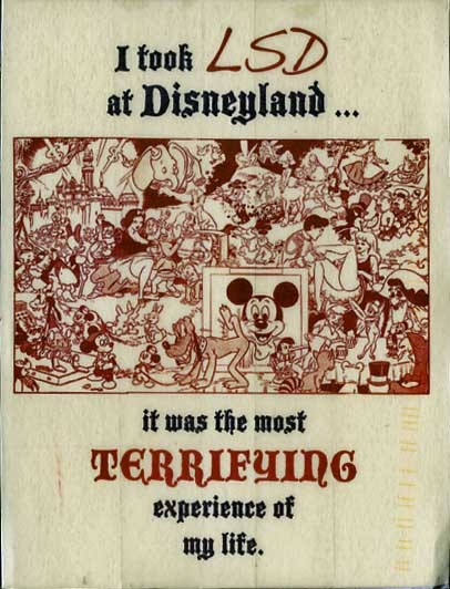 a-zombieee:  i took ecstasy at disneyland. it was the most aweomsest experience of my life :)
