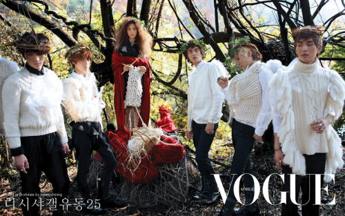 "fairytalemood:  ""The Wild Swans"" editorial from Vogue Korea"
