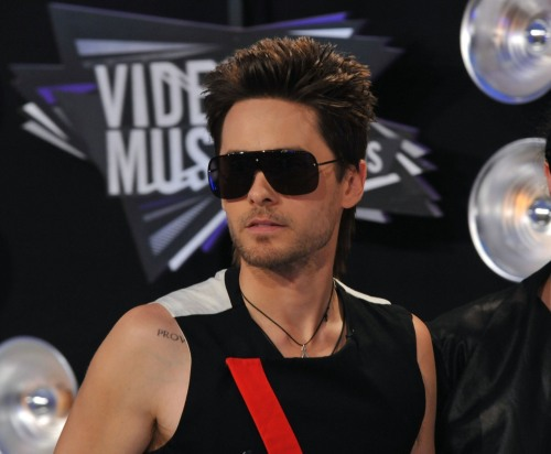 Jared Leto @ 2011 MTV Video Music Awards in Los Angeles - August 28, 2011.