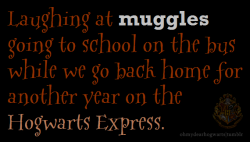 What HOGWARTIANS do…