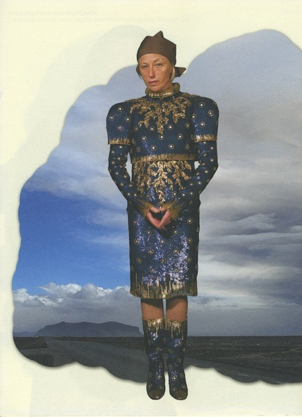 theponds:  Cindy Sherman in Chanel Haute Couture for Pop Magazine.