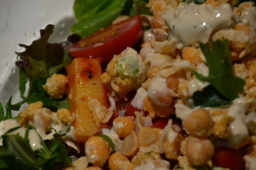 Refresh yourself. vegiehead1:  Super Spring Salad…. for the recipe www.vegiehead.com