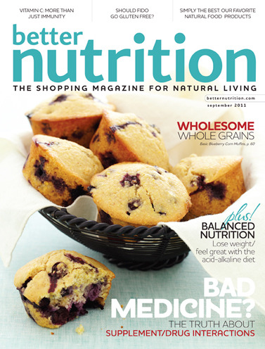 another cover for Better Nutrition Magazine.