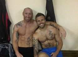 Gareth Thomas and Nick Youngquest