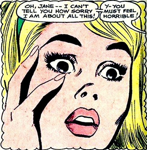 comicallyvintage:  How else would you expect a girl to feel with only two fingers?