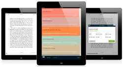 "Readmill is an e-book reader with ""social features"". (The app is in invite-only beta, but the developers have offered Fonts In Use readers a batch of invites.)"