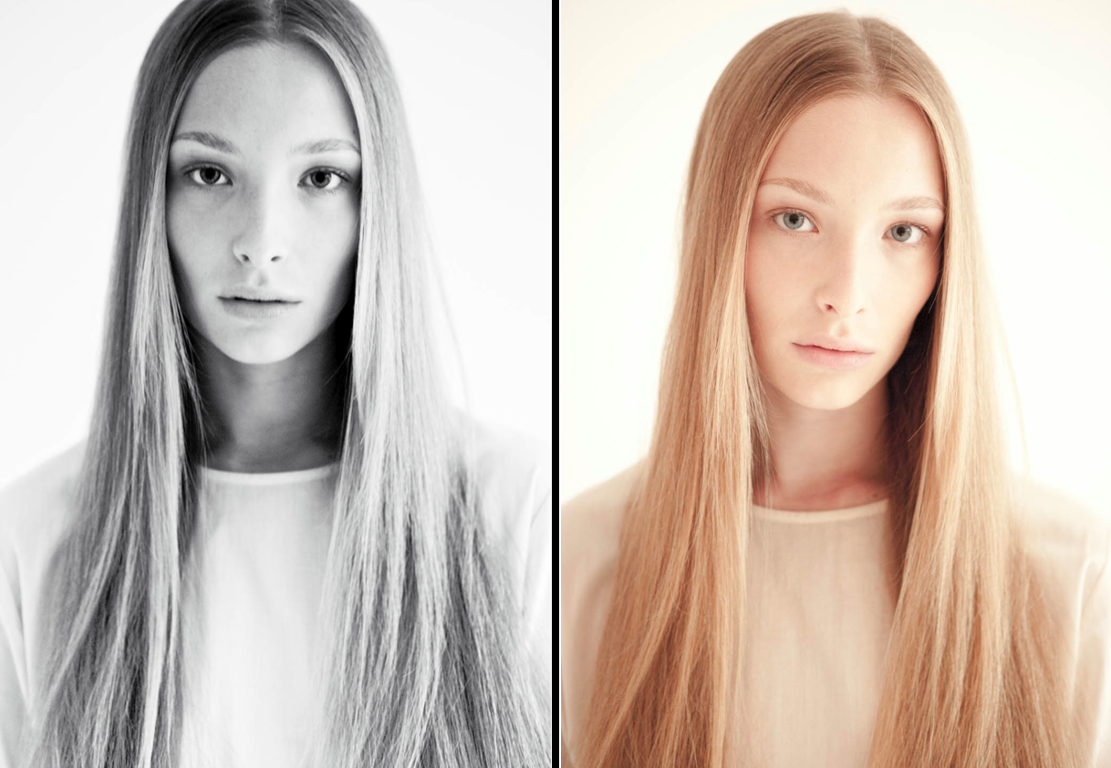 Otherworldly beauty Kim @ Mega Models… Her first shooting !!!