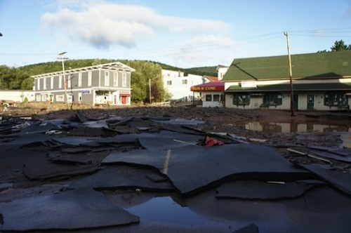 wnyc:  Many still stranded in the flood-ravaged Catskills.