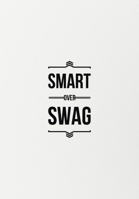 mini-mal-me:  SMART over SWAG!