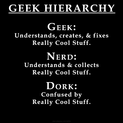 dynosawrslair:  See, this is proof. I've been using the term nerd correctly. Stfu.
