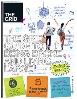 We're on the cover of The Grid this week! Check it HERE and HERE :)
