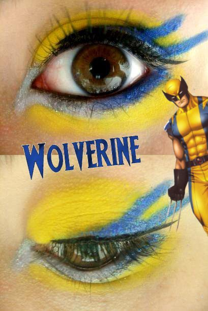 Epic superhero makeup designs! comixbookgurl:  iamlingy:  sweetheartinslytherin:  Superhero Inspired Makeup  wearing all of these  oh hell yes!