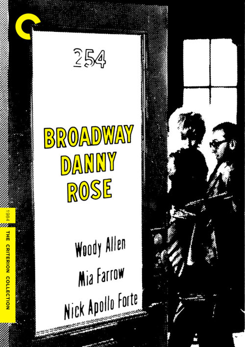 "Criterion Cover for Woody Allen's ""Broadway Danny Rose"""