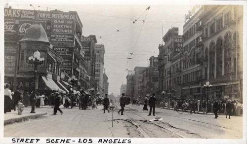 1910, Los Angeles Street Scene William M. McCarthy Photograph Collection,California State Archives